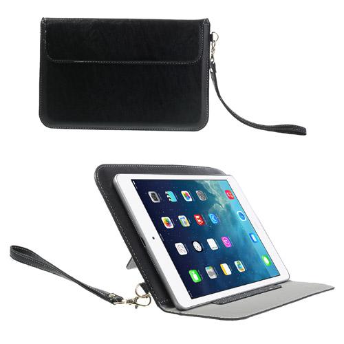 Image of iPad Mini Læder Etui/Taske m. Stand - Sort