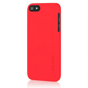 Image of   Apple iPhone 5/5S Feather Case fra Incipio - rød