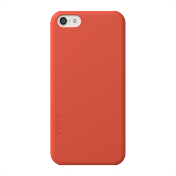 Image of   Apple iPhone 5C Skech Slim Snap On Cover - Rød
