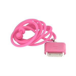 Halskæde med holder til din iPhone og iPod - pink