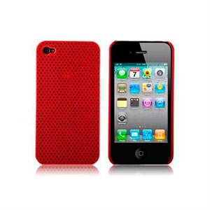 Apple iPhone 4 Hard Air cover fra inCover - rød