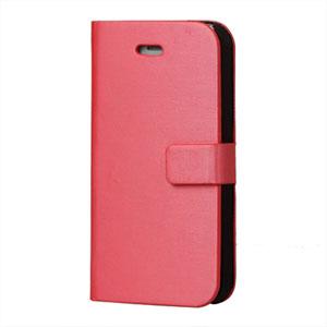 Apple iPhone 4S etui/pung - rosa