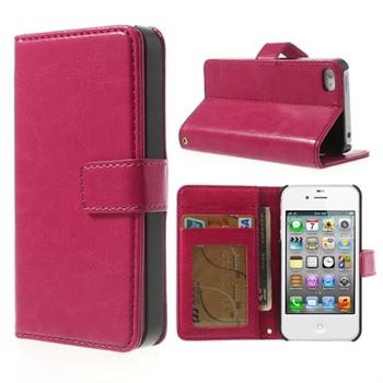 Apple iPhone 4S FlipStand Taske/Etui - Rosa