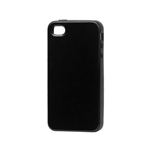 Image of   Apple iPhone 4 og 4S TPU cover fra inCover - sort