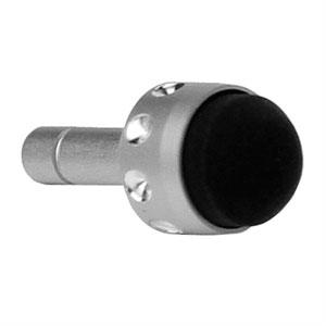Image of   3,5mm Stylus Pen med blødt hoved - sølv