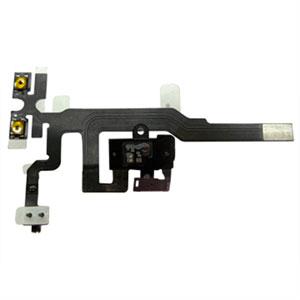 Image of Apple iPhone 4S audio jack flex kabel - sort