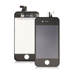 Apple iPhone 4S LCD og touch display - sort