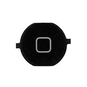 Image of Apple iPhone 4S home knap - sort