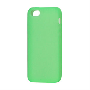 Image of   Apple iPhone 5/5S Silikone cover fra inCover - grøn