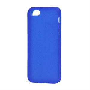 Image of   Apple iPhone 5/5S Silikone cover fra inCover - blå