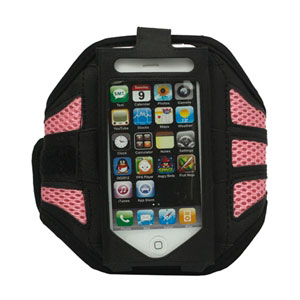 Image of   Apple iPhone og iPod Sport armbånd - pink