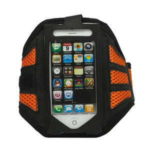 Image of   Apple iPhone og iPod Sport armbånd - orange