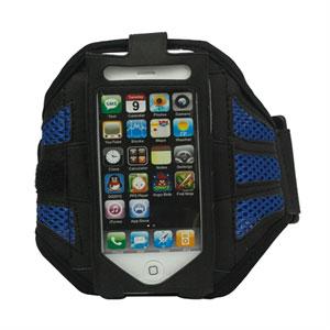 Image of Apple iPhone og iPod Sport armbånd - blå