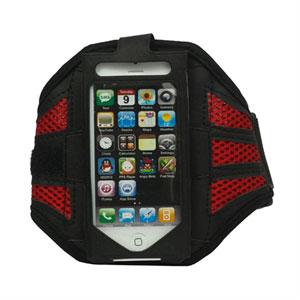 Image of Apple iPhone og iPod Sport armbånd - rød