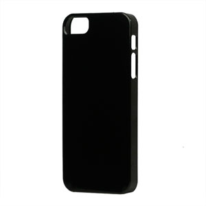 Image of   Apple iPhone 5/5S TPU cover fra - sort