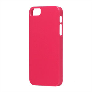Image of   Apple iPhone 5/5S TPU cover fra - rosa