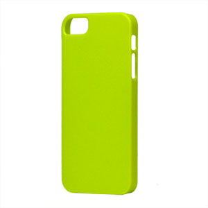 Image of   Apple iPhone 5/5S Plastik cover fra inCover - grøn