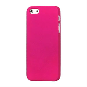 Image of   Apple iPhone 5/5S Plastik cover fra inCover - mat rosa