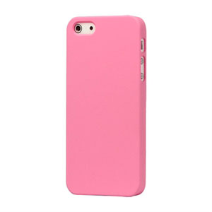Image of   Apple iPhone 5/5S Plastik cover fra inCover - mat pink