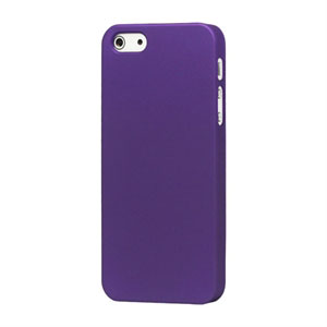 Image of   Apple iPhone 5/5S Plastik cover fra inCover - mat lilla