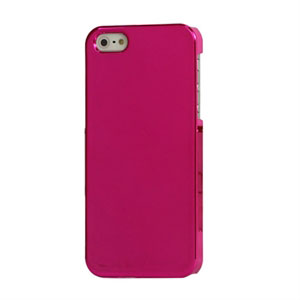Image of   Apple iPhone 5/5S Design Plastik cover fra - Mirror rosa