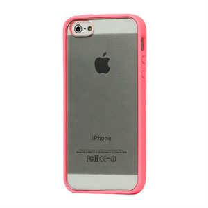 Image of   Apple iPhone 5/5S Hybrid Plastik cover - pink