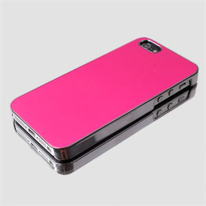 Image of   Apple iPhone 5/5S aluminium cover fra - rosa