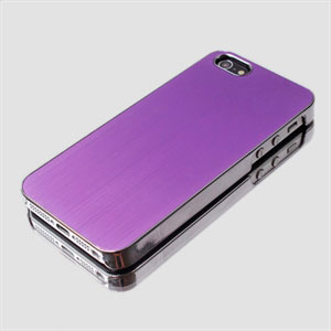Image of   Apple iPhone 5/5S aluminium cover fra inCover - lilla