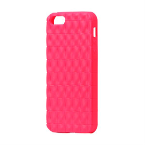 Image of   Apple iPhone 5/5S TPU Square cover fra inCover - rosa