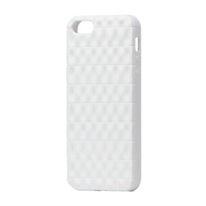 Image of   Apple iPhone 5/5S TPU Square cover fra inCover - hvid