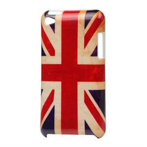 Apple iPod Touch 4G Design Plastik cover fra inCover - Union Jack