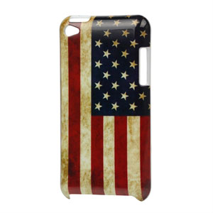 Image of Apple iPod Touch 4G Design Plastik cover fra inCover - Stars and Stripes