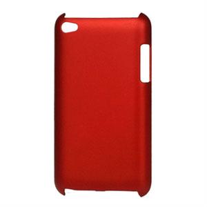 Apple iPod Touch 4G Plastik cover fra inCover - rød
