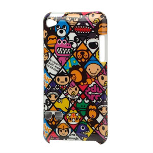 Image of Apple iPod Touch 4G Design Plastik cover fra inCover - Cartoon