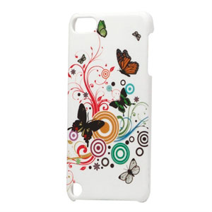 Apple iPod Touch 5G Design Plastik cover fra inCover - Butterflies