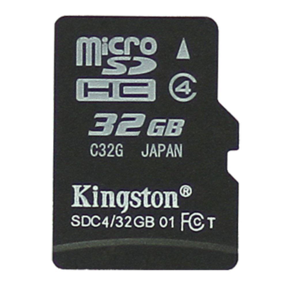 Image of Kingston 32GB Micro SDHC klasse 4 Hukommelseskort