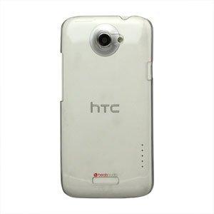 Image of HTC One X og One X Plus Plastik cover fra inCover - gennemsigtig