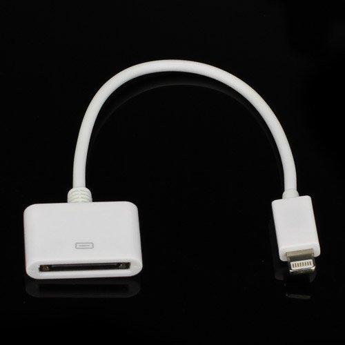 Billede af Lightning Til 30-Pin Adapter Kabel- Hvid 13cm