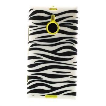 Nokia Lumia 1520 inCover Design Plastik Cover - Zebra