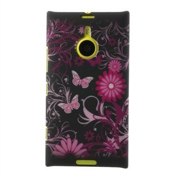 Image of Nokia Lumia 1520 inCover Design Plastik Cover - Butterflies Flowers