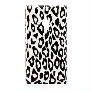 Billede af Nokia Lumia 520 inCover Design Plastik Cover - Leopard
