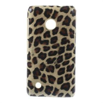 Billede af Nokia Lumia 530 inCover Design Plastik Cover - Leopard