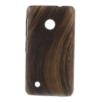 Billede af Nokia Lumia 530 inCover Design Plastik Cover - Woodie