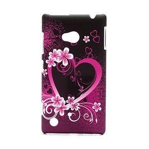 Billede af Nokia Lumia 720 inCover Design Plastik Cover - Heart