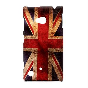 Image of Nokia Lumia 720 inCover Design Plastik Cover - Union Jack