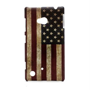 Image of Nokia Lumia 720 inCover Design Plastik Cover - Stars And Stripes