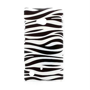 Billede af Nokia Lumia 720 inCover Design Plastik Cover - Zebra
