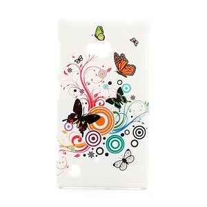 Image of Nokia Lumia 720 inCover Design Plastik Cover - Butterfly Circle