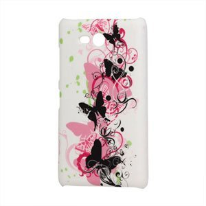 Image of Nokia Lumia 820 Design Plastik cover fra inCover - Butterflies