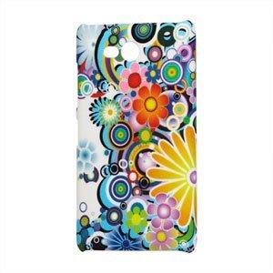 Image of Nokia Lumia 820 Design Plastik cover fra inCover - Flower Power